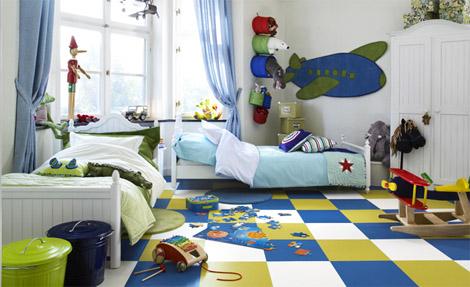 pergo-lastenhuone