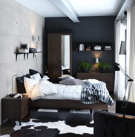 ikea-makuuhuone
