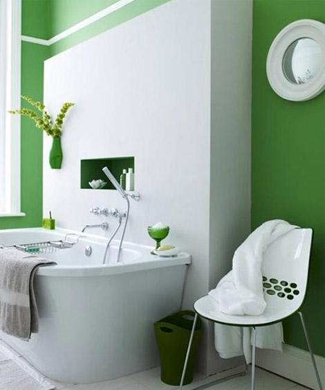 kylpyhuone-vihrea