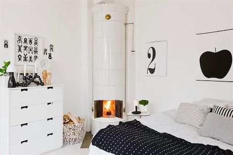 makuuhuone-mustavalkoinen