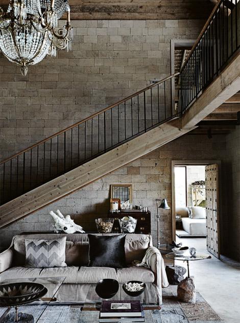 rustiikki-ruskea-harmaa-olohuone