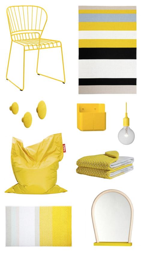 kesa-sisustus-keltainen