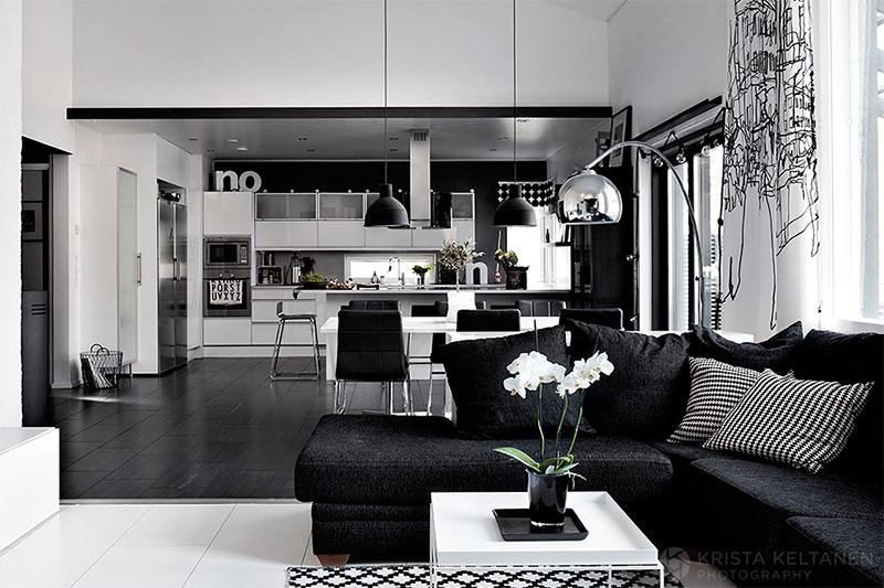 mustavalkoinen-sisustus-koti-1