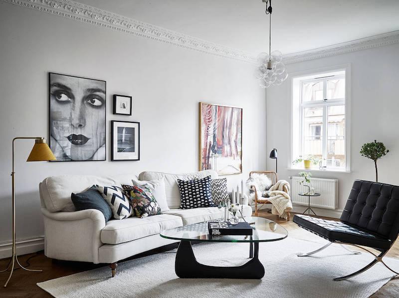 elegantti-mustavalkoinen-sisustus-olohuone-sohva