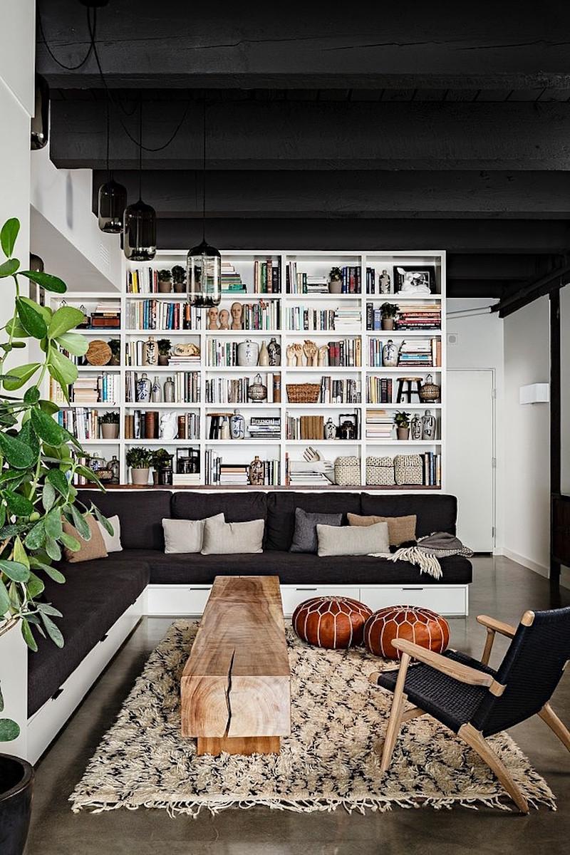loft-asunto-olohuone