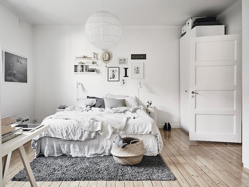makuuhuone-valkoinen-puu