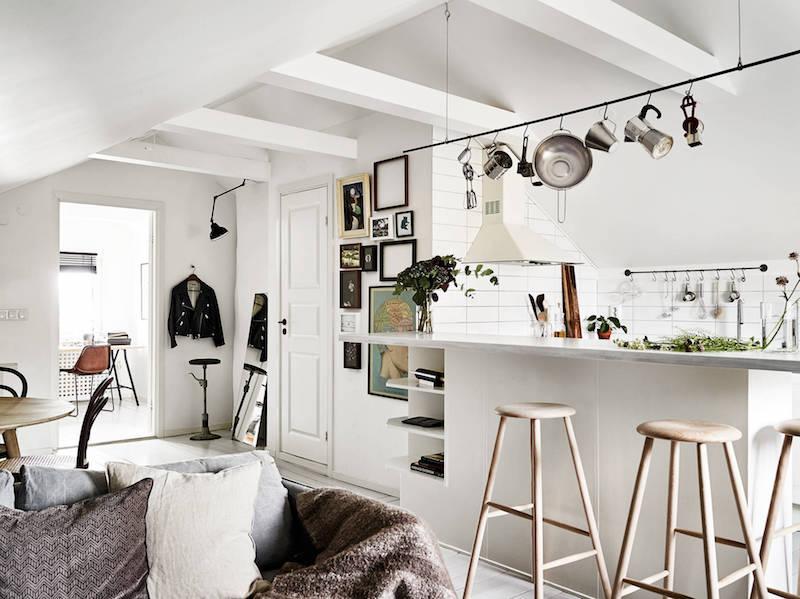 boheemi-kaksio-kattohuoneisto-keittio