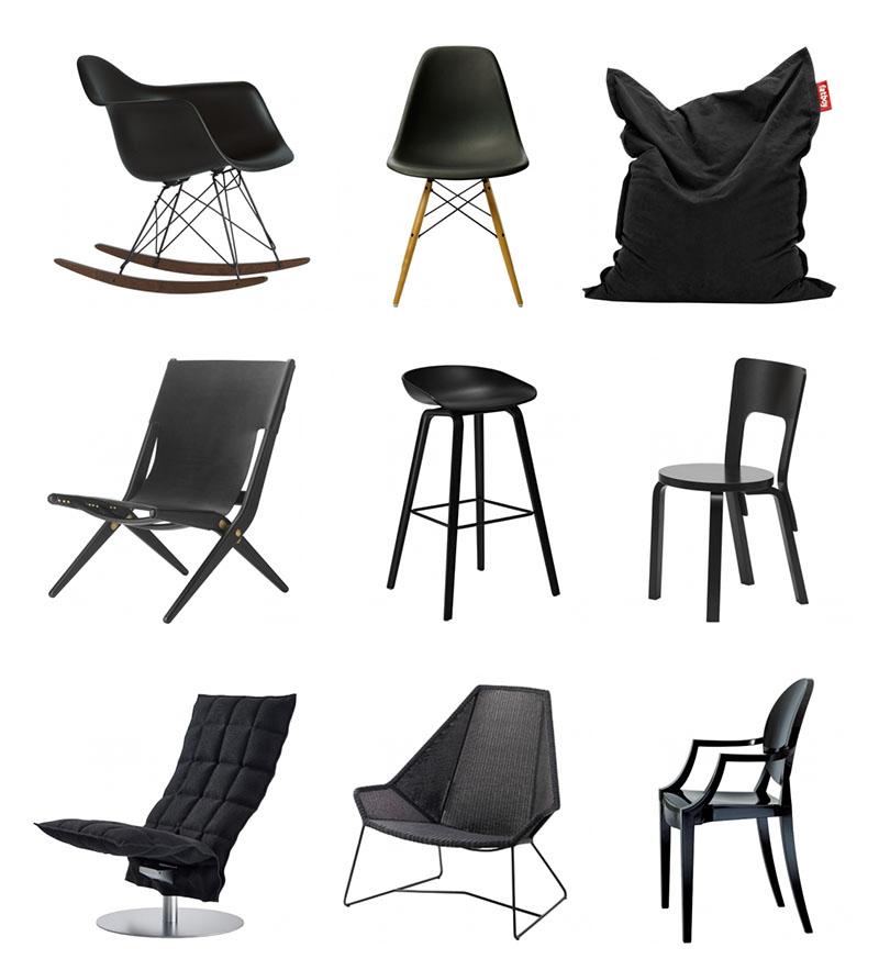 musta-tuoli