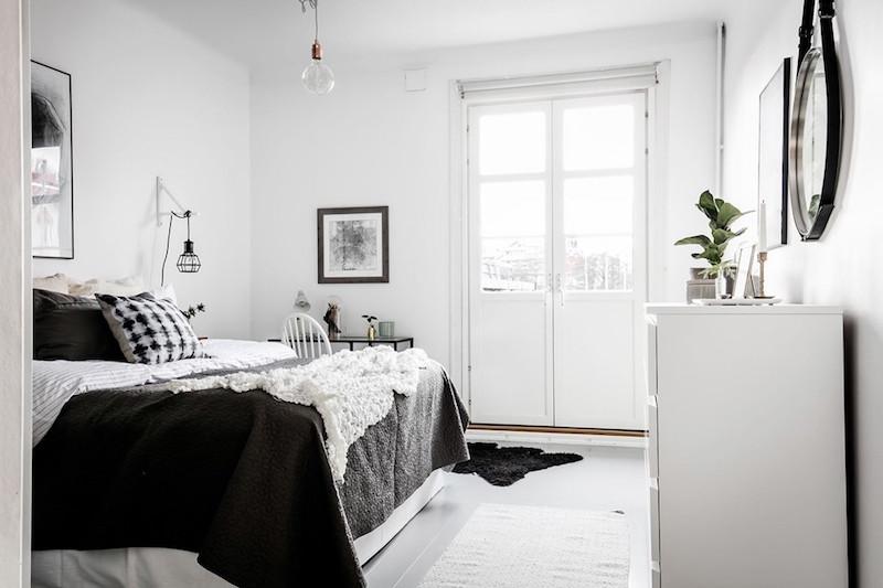 makuuhuone-kaksio-sisustus
