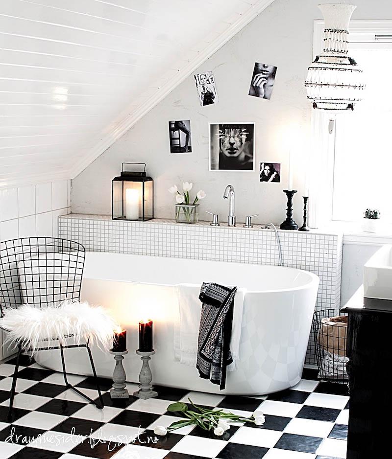 mustavalkoinen_kylpyhuone