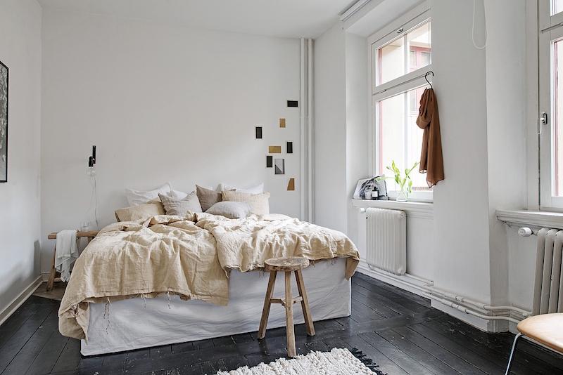 kaksion-sisustus-makuuhuone