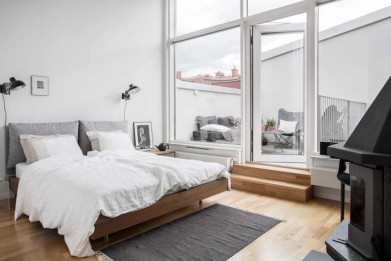 nayttava-kattohuoneisto-makuuhuone