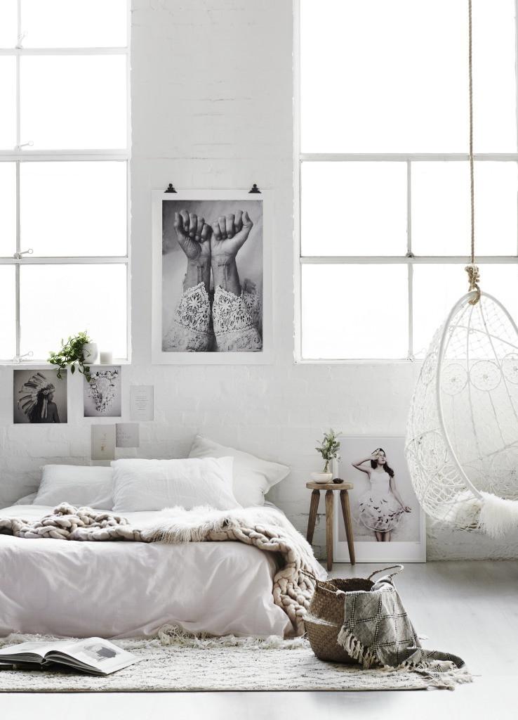 boheemi-valkoinen-makuuhuone