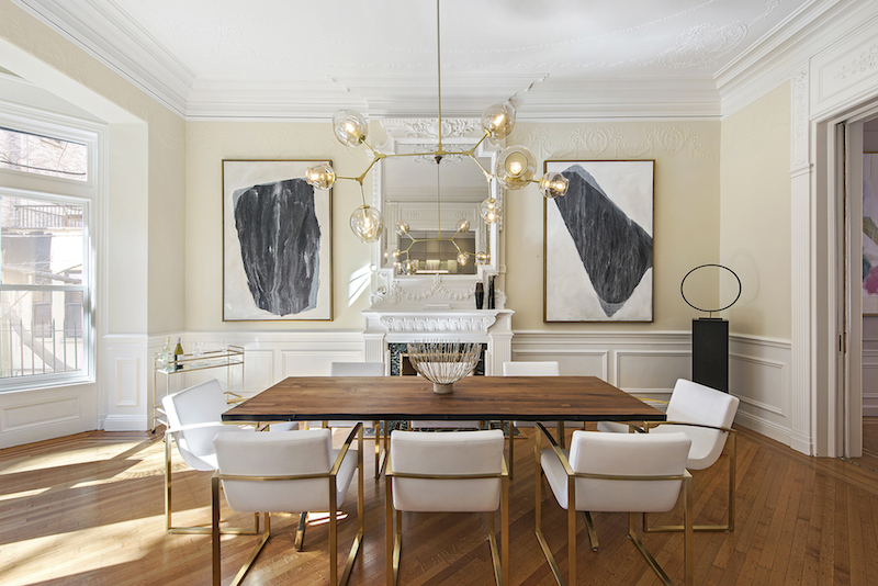 eleganttia-tyyli-newyorkissa-ruokailutila