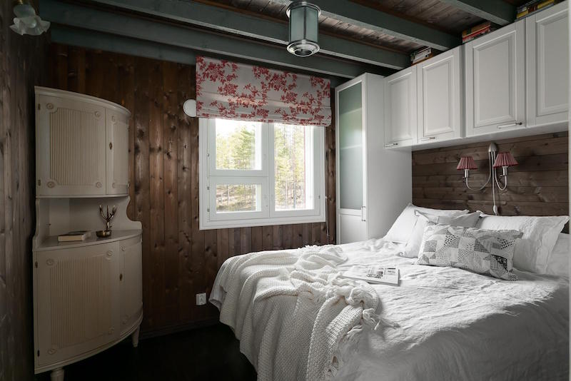 koti-metsan-keskella-makuuhuone