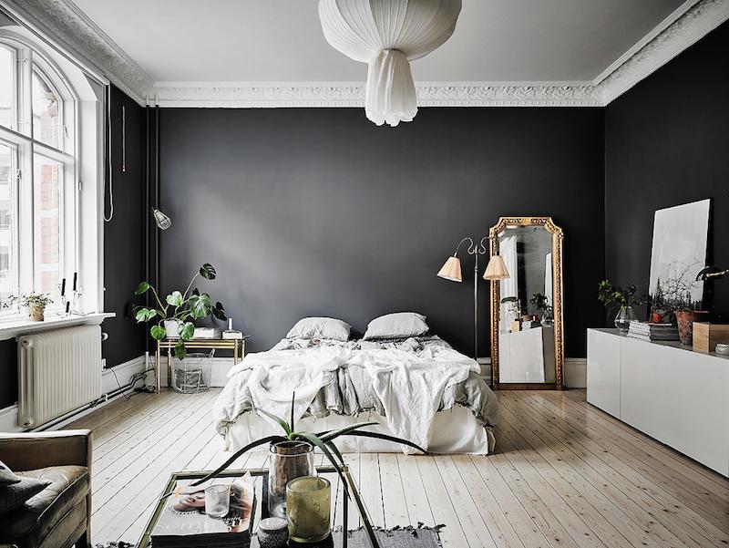 sisustus-sekoitus-tyyleja-makuuhuone