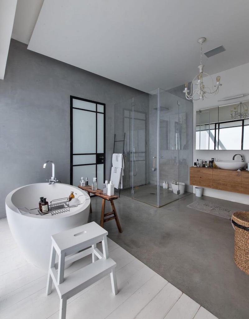 loft-tyylia-tel-aviv-master-bedroom-kylpyhuone