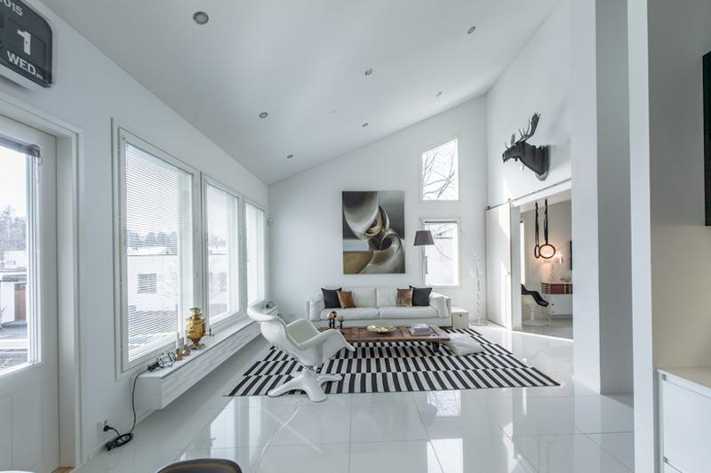 mustavalkoista-design-olohuone-ikkunat