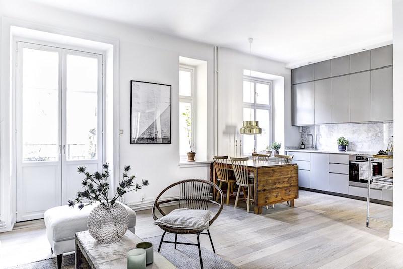 sisustuksen-rytmi-harmaa-puu-valkoinen-huonekalut
