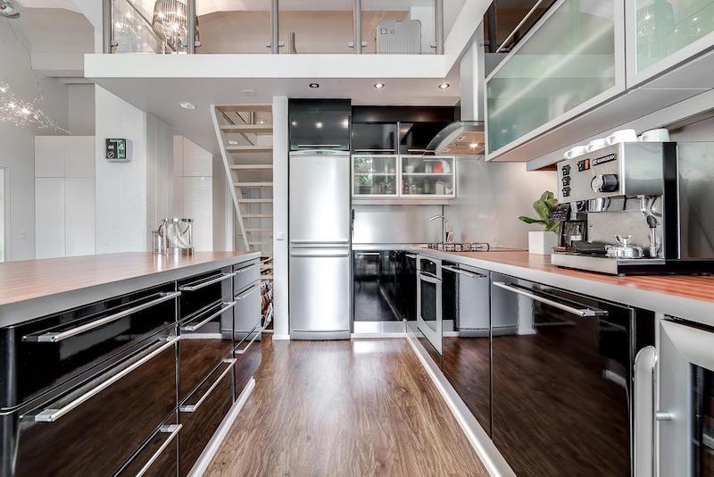 loft-asunto-sisustus-moderni-keittio