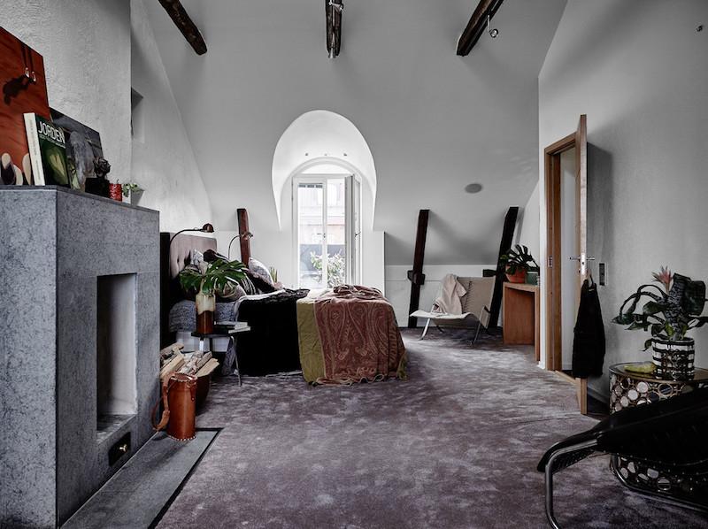 ylellinen-kattohuoneisto-makuuhuone-2