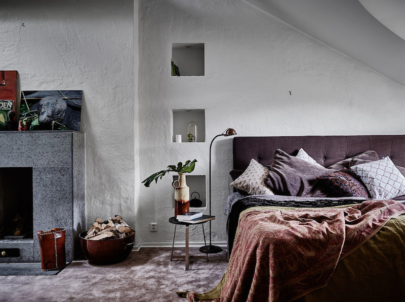 ylellinen-kattohuoneisto-makuuhuone
