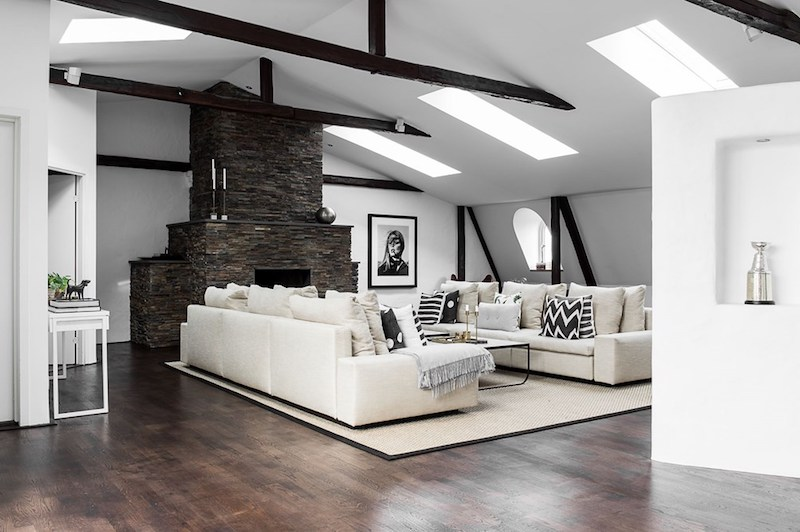 penthouse-olohuone