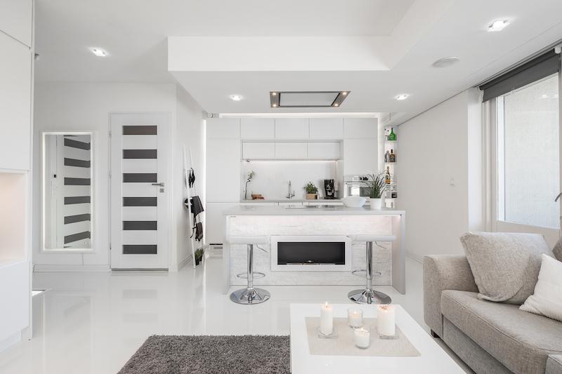valkoinen-upea-yksio-keittio
