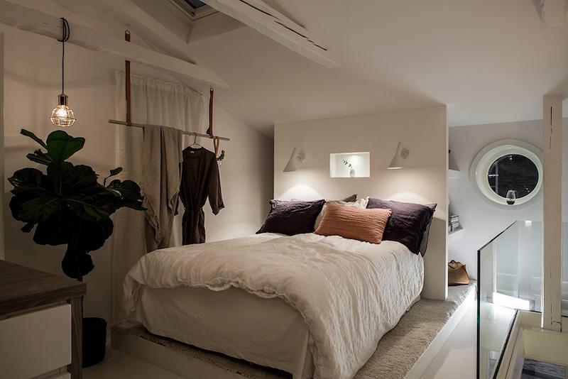 sisustus-kaksio-makuuhuone