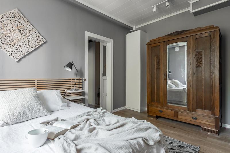 sisustus-vanhaa-ja-uutta-makuuhuone