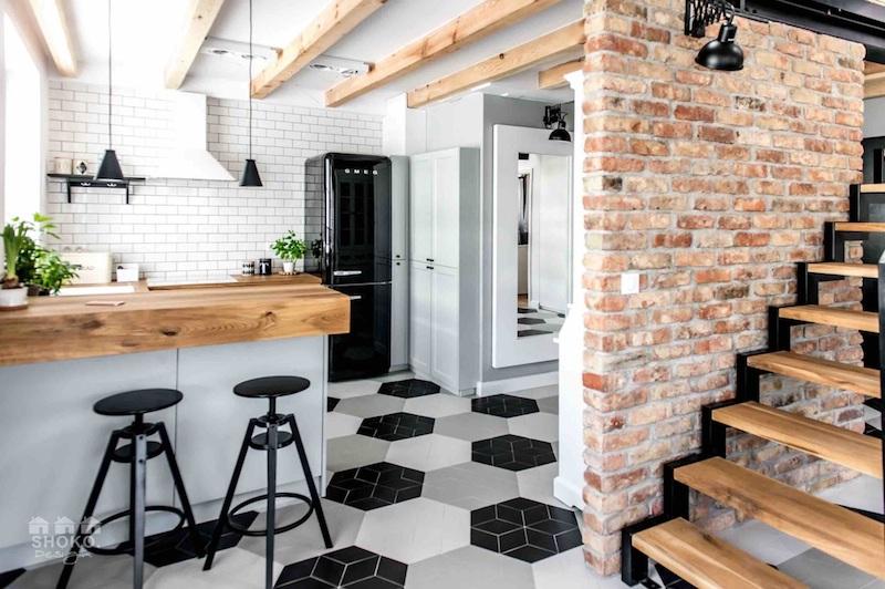loft-sisustus-keittio